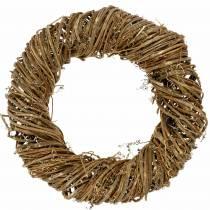 Corona di vite Ø50cm naturale