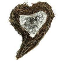 Pianta di vite cuore natura 15 cm x 23 cm x 5 cm 4 pezzi