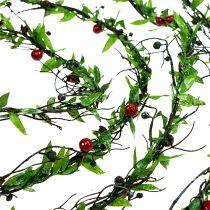 Ghirlanda di uva con frutti di bosco 3m