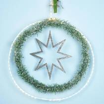 Anello con micro LED Ø38cm bianco caldo 125L bianco Per esterno e interno