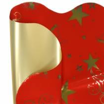 Sottovasi Natale Tratti di Stelle Rosso 60cm 50pz