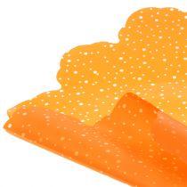 Rondella dots arancione Ø68cm 50p