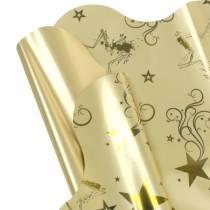 Motivo natalizio Rondella 60cm oro 50 pezzi