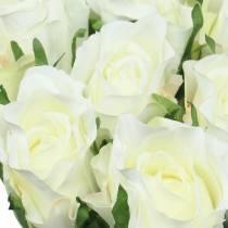 Rose White 42cm 12 pezzi