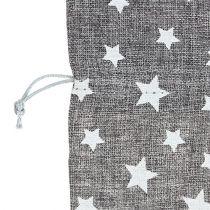 Borsa con stelle Ø23cm H35cm Grigio