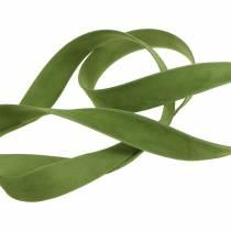 Nastro di velluto verde 15mm 7m