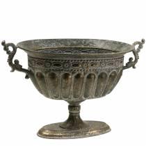 Coppa Oro antico ovale 42cm H28cm