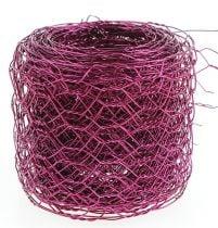 Maglia esagonale Rosa 50mm 5m