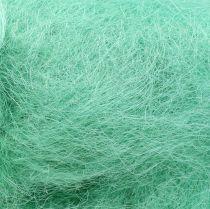 Erba per la decorazione di sisal verde chiaro 250g