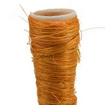 Vaso di sisal arancione Ø1,5cm L15cm 20 pezzi