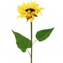Girasole a gambo lungo giallo 53cm