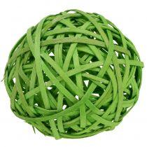 Truciolare verde chiaro Ø8cm 4 pezzi