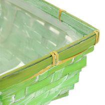 Spank cestino set quadrato multicolore 20 / 11cm 8 pezzi