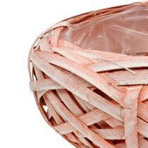 Truciolare tondo Ø25cm H10cm arancione