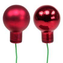 Specchio bacche 20mm rosso 140p
