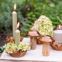 Candela conica verde candele premium 120mm / Ø21mm 6 pezzi