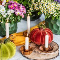 Candela conica candela bianca crema decorazione 120mm / Ø21mm 6pz