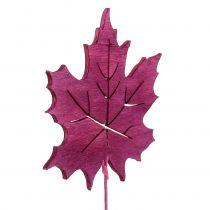Spina decorativa Deco Rosa, Verde, Bordeaux 8 cm 18 pezzi