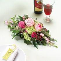 Schiuma floreale 1/2 mattone Garnette 36 8 pezzi