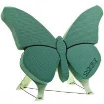 Farfalla in schiuma floreale con supporto 56 cm x 40 cm