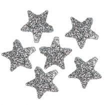 Stella glitterata 1,5 cm per cospargere 144 pezzi d'argento