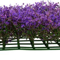 Tappetino per fiori a stella 25 cm x 25 cm viola
