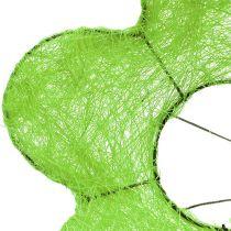 Sisal Bouquet Cuff Verde Ø15cm 10 pezzi
