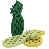 Ananas in legno Decorazione da controllare 3,5 cm 72 pezzi