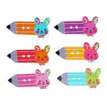 Bottoni sparsi decorazione per feste a matita 24 pezzi