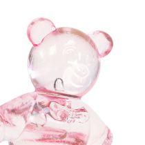 Orso Decorazione da controllare rosa 3,5 cm 60 pezzi