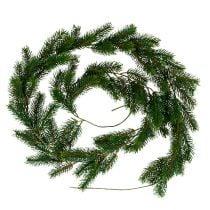 Ghirlanda di abete 182 cm verde per esterno e interno