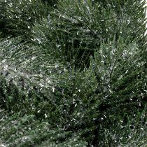 Corona di abete Ø40cm ghiacciata
