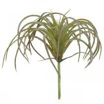Tillandsia artificiale da attaccare Pianta artificiale verde-viola 13cm