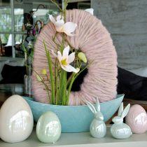 Madreperla rosa uovo 15cm 1p
