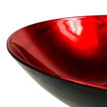 Ciotola da tavolo in plastica rossa Ø28cm