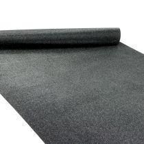 Runner da tavolo nero 50cm 3m
