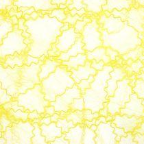 Runner da tavola Sizotwist giallo 30cm 5m