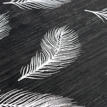 Runner da tavolo con motivo piuma 30 cm x 500 cm