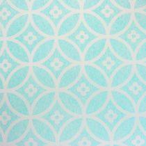 Runner da tavolo con motivo azzurro 30 cm x 300 cm
