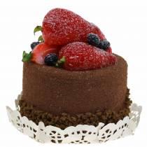 Manichino di cioccolato tortino deco 7 cm