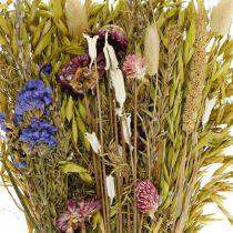 Mazzo di fiori secchi rosa naturale 45cm