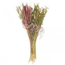Fiori secchi Set fai da te per bouquet fiori secchi rosa 60cm