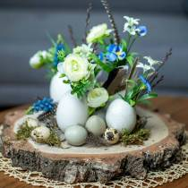 Uova di tacchino naturale 6,5 cm 12 pezzi