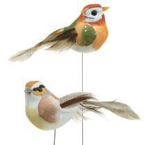 Birds on wire nature 9cm 12 pezzi