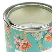 Candela profumata alla vaniglia in fioriera Ø6,5cm