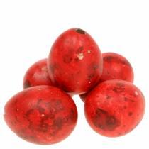 Uova di quaglia uova rosse soffiate 50p