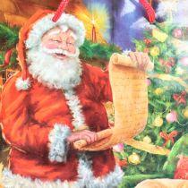 Sacco di carta Santa 11 cm x 13,5 cm