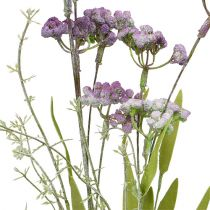 Fiore di campo viola chiaro L60cm 3 pezzi