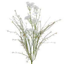 Fiori da giardino bianco L50cm 3 pezzi