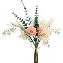 Bouquet da prato bouquet artificiale fiori di seta H42cm